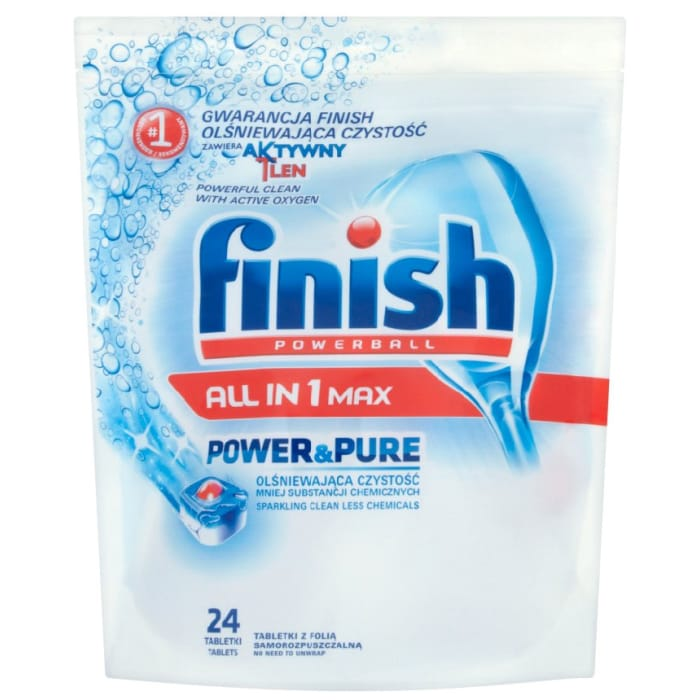 Finish Powerball All in 1 Max Power & Pure Tablets 446g