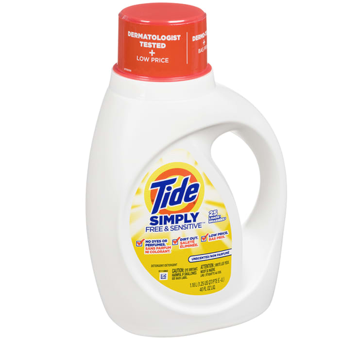 Tide Simply Free & Sensitive Unscented Liquid