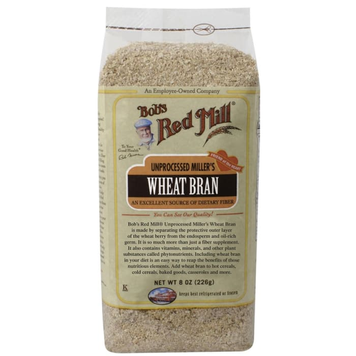 Bob's Red Mill Unprocessed Miller's Wheat Bran