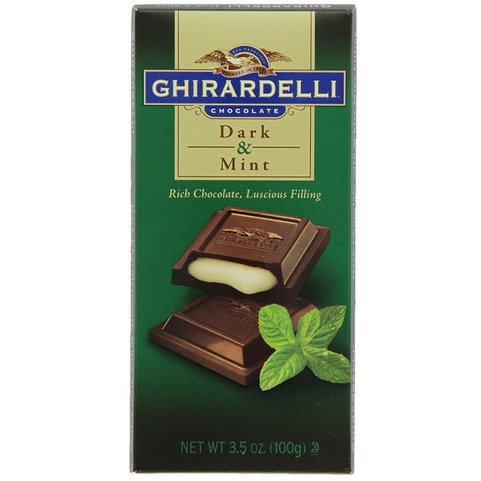 Ghirardelli Dark And Mint Chocolate