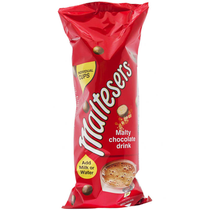 Maltesers Malty Instant Hot Chocolate Drink 7 Individual Cups x 17g