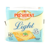 President Cheese Slices Light