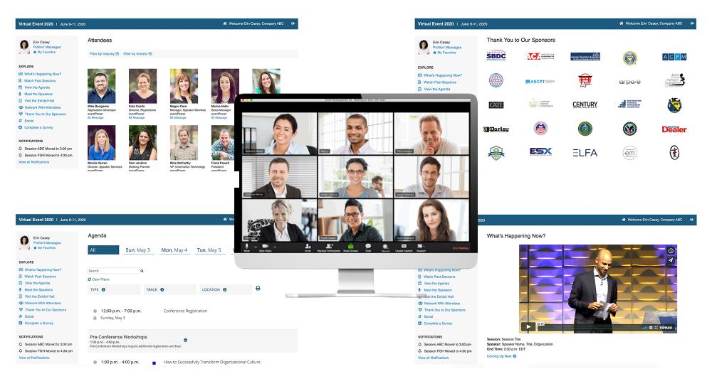 Virtual Event Platform Graphic