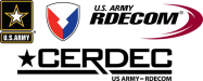 U.S. Department of Defense Army Communications-Electronics Research, Development and Engineering Center (CERDEC) Logo