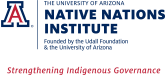 Native Nations Institute, University of Arizona Logo