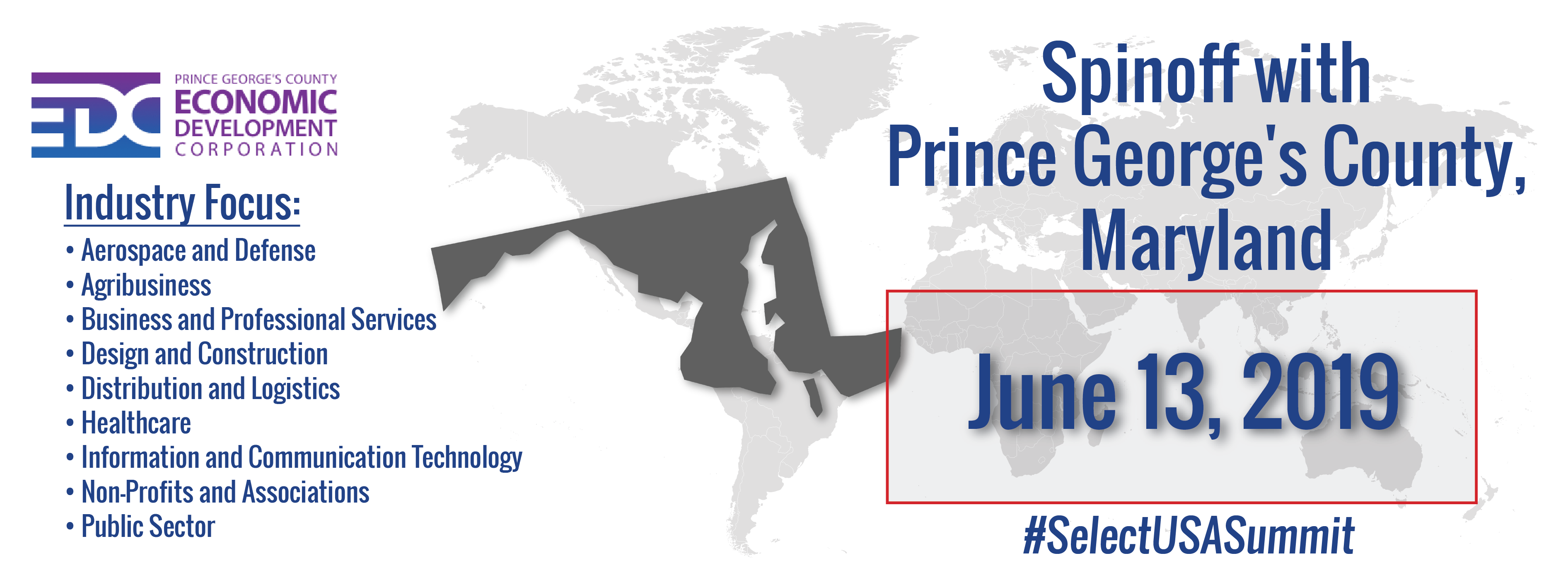 Spinoff Event Graphic - Prince George's County, Maryland