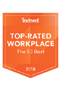 Indeed Top-Rated Workplace Badge