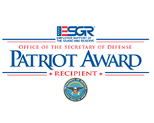 Patriot Award Badge