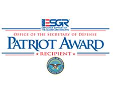 Patriot Award Badge