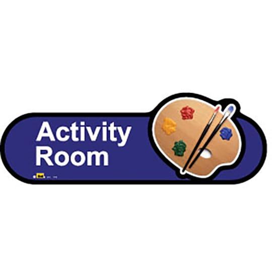 Activity Room  - Dementia Signage