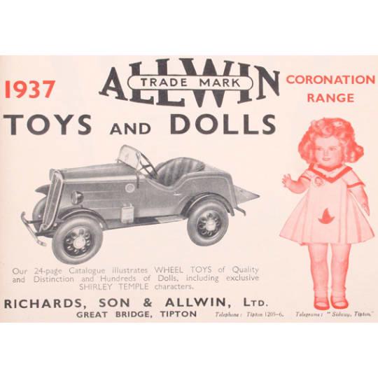 Dementia friendly Allwin Toys - A4 (210 x 297mm)