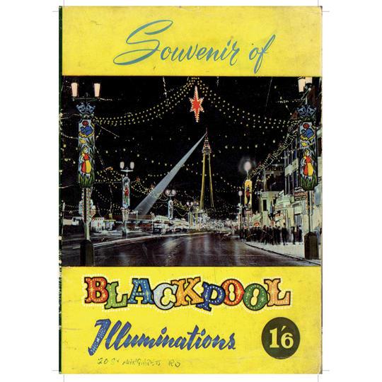 Dementia friendly Blackpool Souvenir - A4 (210 x 297mm)