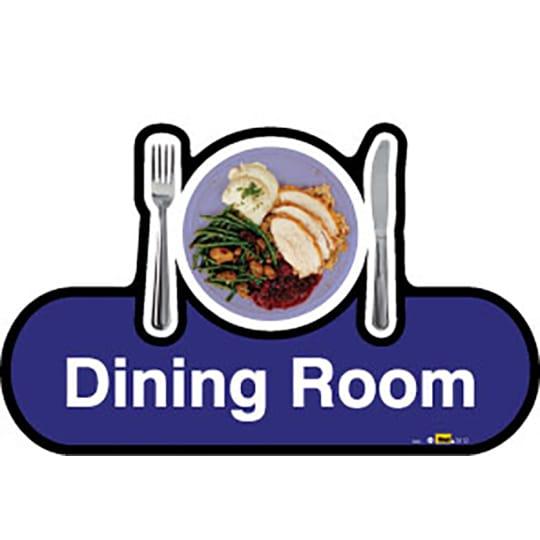 Dining Room  - Dementia Signage