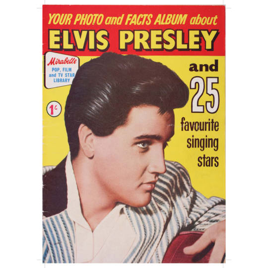 Dementia friendly Elvis Presley - A4 (210 x 297mm)