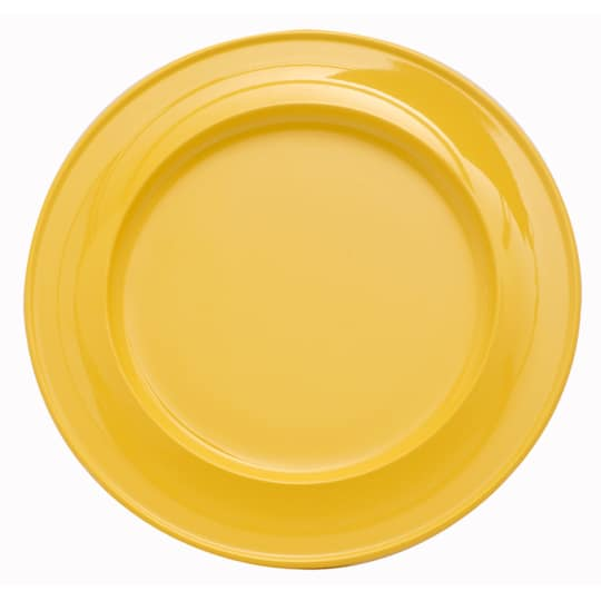 """Dementia friendly 10"""" Find Dining melamine coloured dinner plate for dementia and alzheimers care"""