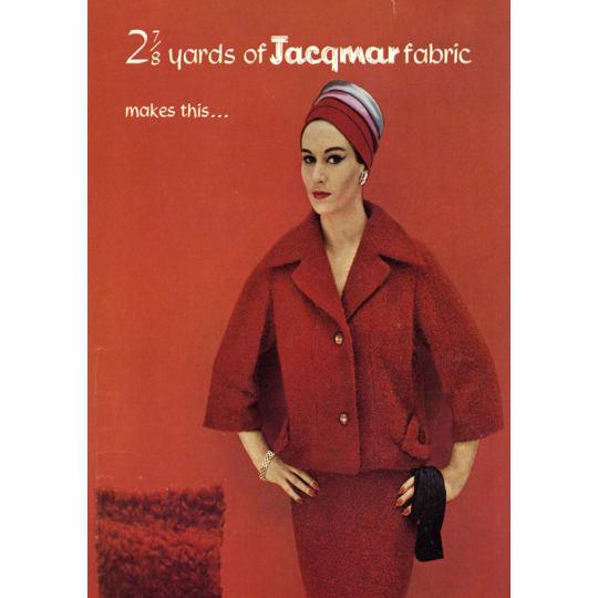 Jacqmar Fabric - A4 (210 x 297mm)