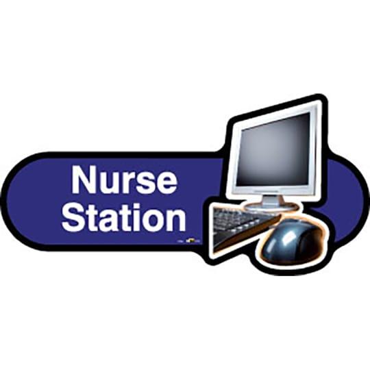 Nurse Station - Dementia Signage