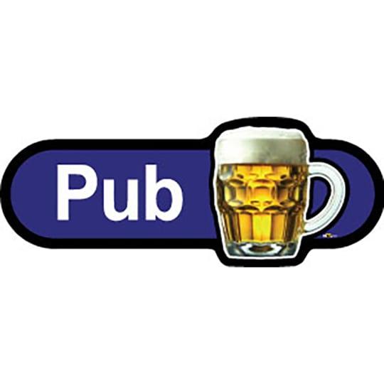 Pub  - Dementia Signage
