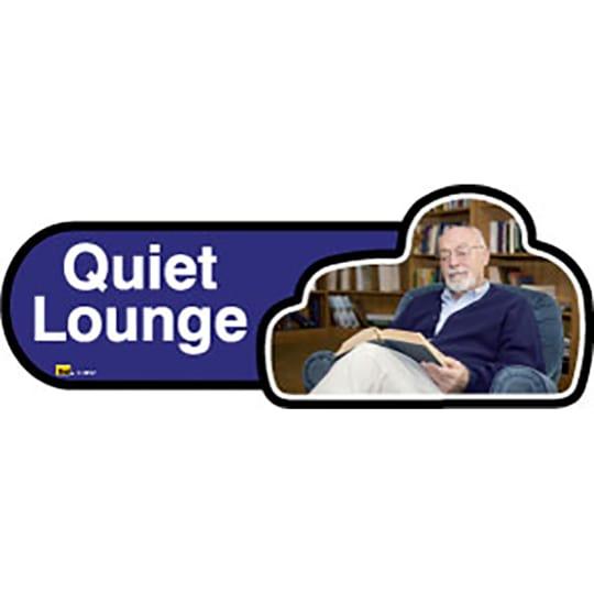 Quiet Lounge - Dementia Signage