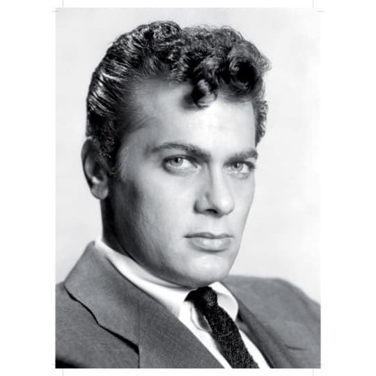 Tony Curtis 2 - A4 (210 x 297mm)