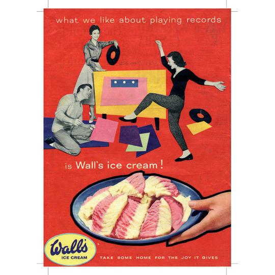 Walls Ice Cream - A4 (210 x 297mm)
