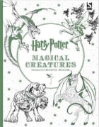 Harry Potter. Magical creatures. Colouring book
