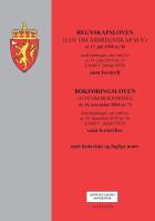 Regnskapsloven ; Bokføringsloven : (lov om bokføring) av 19. november 2004 nr. 73 : med endringer, sist ved lov av 20. desember 2019 nr. 96 (i kraft 1. januar 2020) ; samt forskrifter