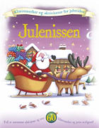 Julenissen. Klistremerker og aktiviteter for juletiden
