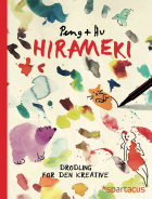Hirameki. Drodling for den kreative - en omvendt fargeleggingsbok