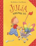 Julia hjelper til