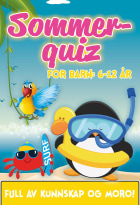 Sommerquiz for barn