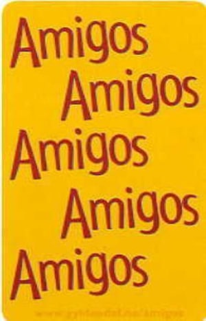 Amigos. Språkkort