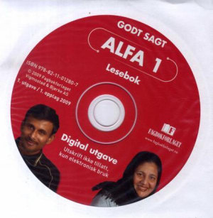 Godt Sagt Alfa, Alfaboksen, CD med pdf