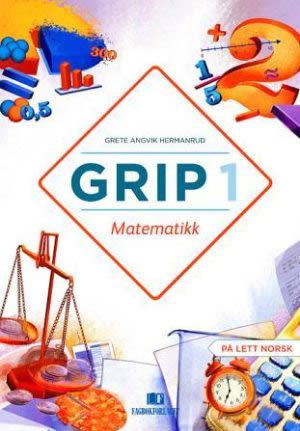 Grip 1 Matematikk Grunnbok, d-bok (BM)