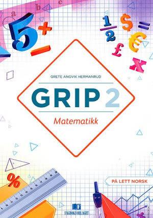 Grip 2 Matematikk Grunnbok, d-bok (NYN)