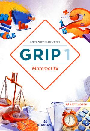 Grip 1 Matematikk Lærarrettleiing, d-bok (NYN)
