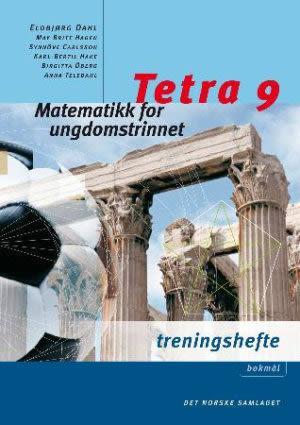 Tetra 9 Treningshefte interaktiv, d-bok