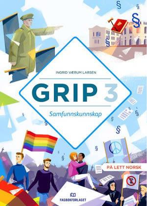 Grip 3 Samfunnskunnskap Grunnbok, d-bok (BM)
