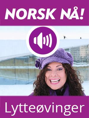 Norsk nå! Øvinger i lytteforståelse