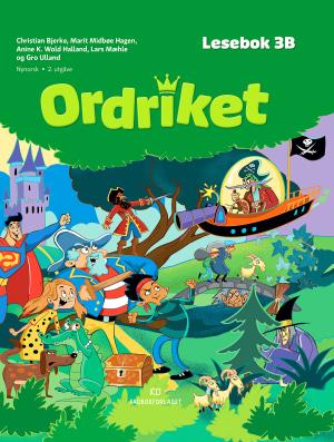 Ordriket 3B Lesebok