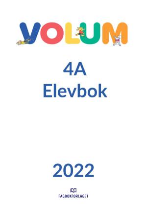 Volum 4A Elevbok
