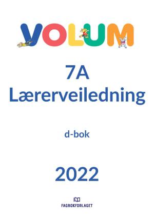 Volum 7A Lærerveiledning, d-bok