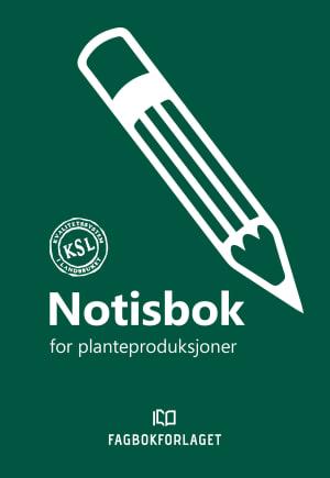 Notisbok for planteproduksjoner