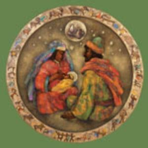 Julekort med juleevangeliet. Pakke á 100 stk