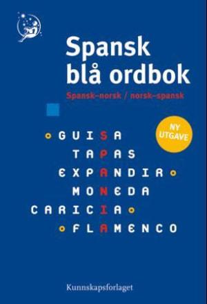 Spansk blå ordbok