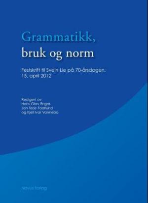 Grammatikk, bruk og norm