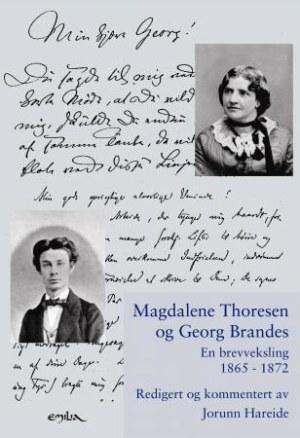 Magdalene Thoresen og Georg Brandes