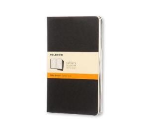 Ruled journals. Cahier. Linjert. Stort format. Moleskine