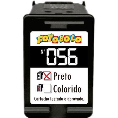 Cartucho HP 56 PRETO - com Corante comestível