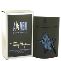 Buy ANGEL by Thierry Mugler 3.4 oz Eau De Toilette Spray Refillable (Rubber) for Men online at best price, reviews
